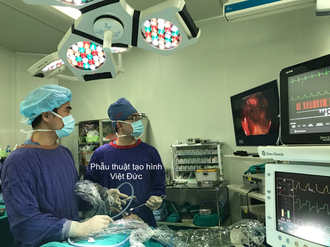 Vietnam performs first-ever blowout fracture endoscopic